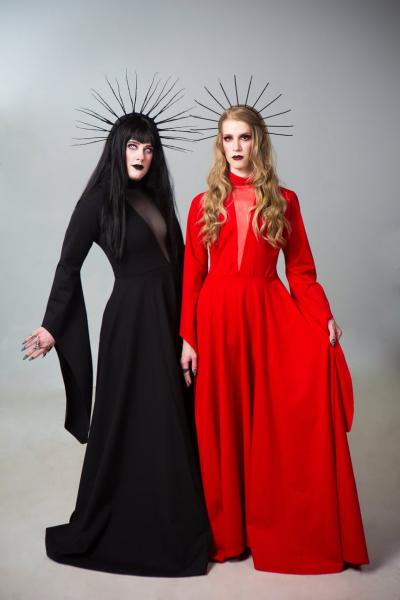 Gothic Queen Dress - Custom to Order