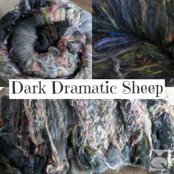 Dark Dramatic Sheep
