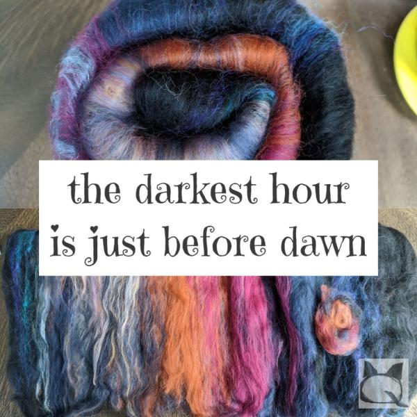 the darkest hour is just before dawn picture