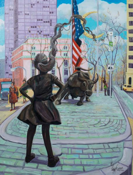 Fearless Girl - large
