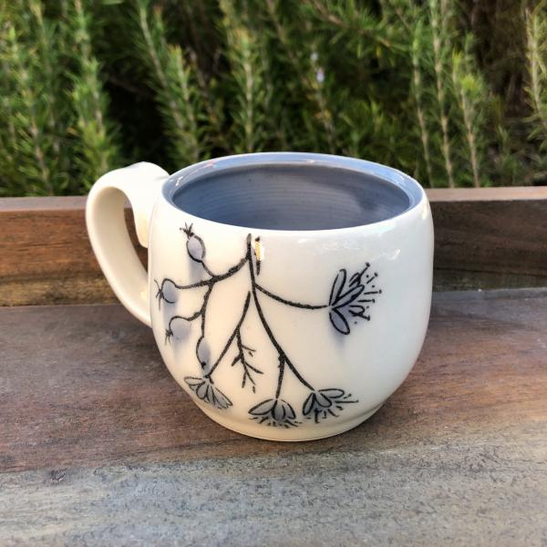 hanging herb tea cup