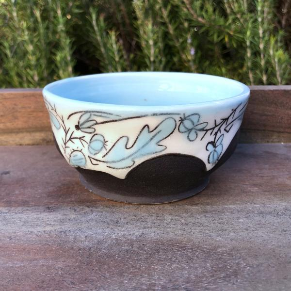 small floral bowl