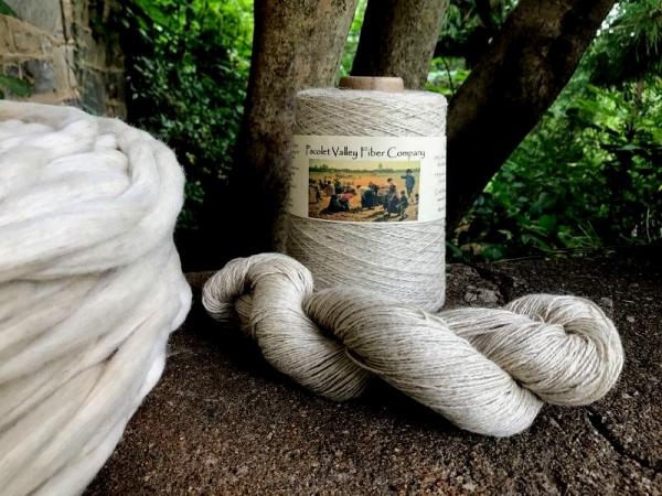 Cotton/Linen Fingering Yarn-2 oz/245 yards picture