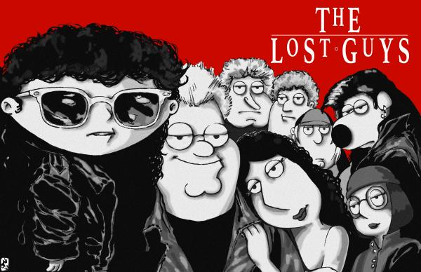 The Lost Guys Print