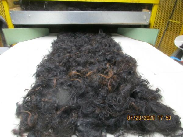 Black Washed Alpaca Roving Huacaya from Adam - Free Shipping picture