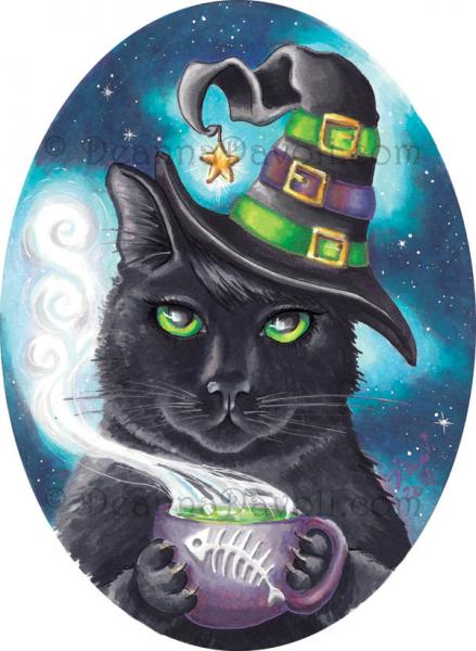 Georgette the Witch Cat picture