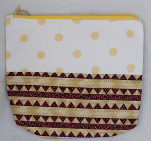 Rectangular Notions Pouch 004