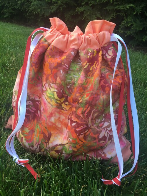 Drawstring Project Tote 007