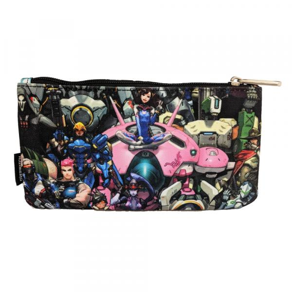 Loungefly x Overwatch Character Print Coin/Cosmetic Bag