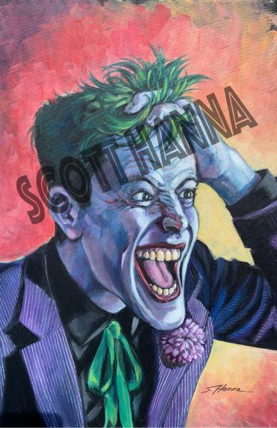 Joker Art Print large AL5