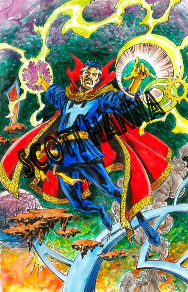 Doctor Strange Art Print Sm AS10