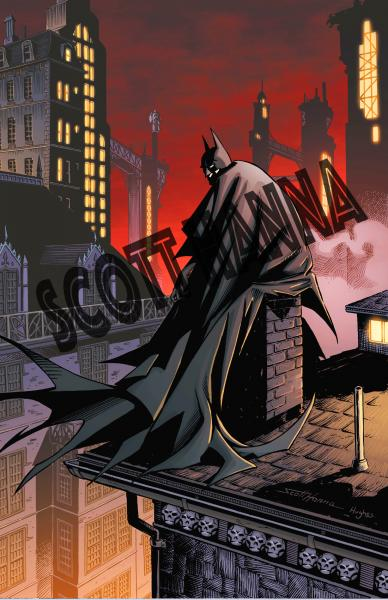 Batman Art Print large AL2