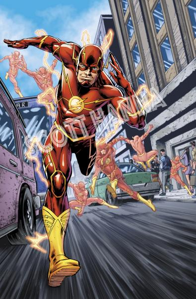 Flash Art Print Sm AS12
