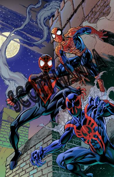 3 Spider-Men Art Print Sm AS14