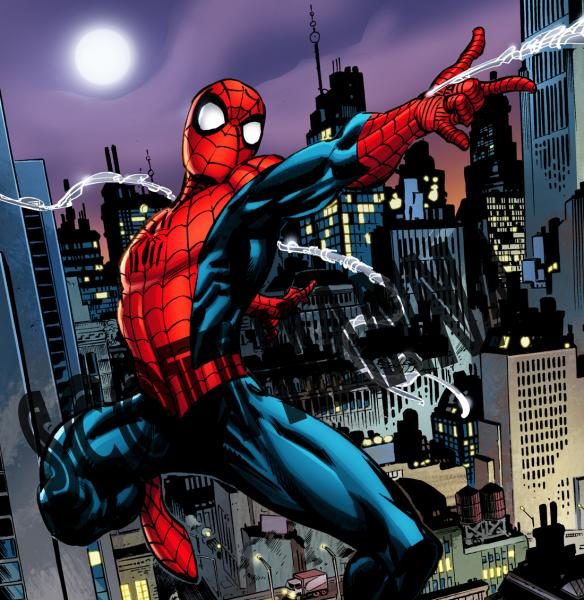 Spider-Man Art Print large AL1