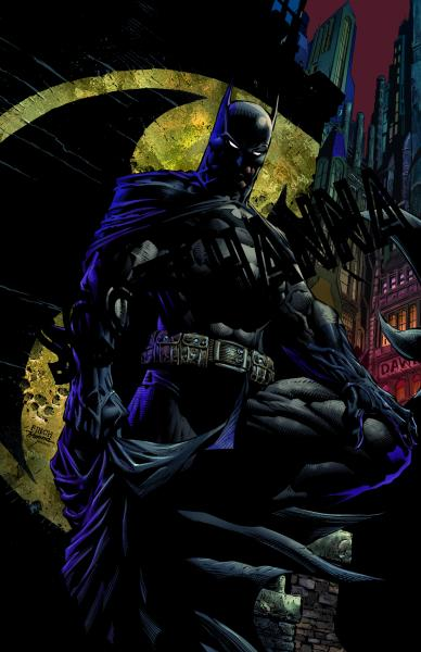 Batman Night Art Print Sm AS11