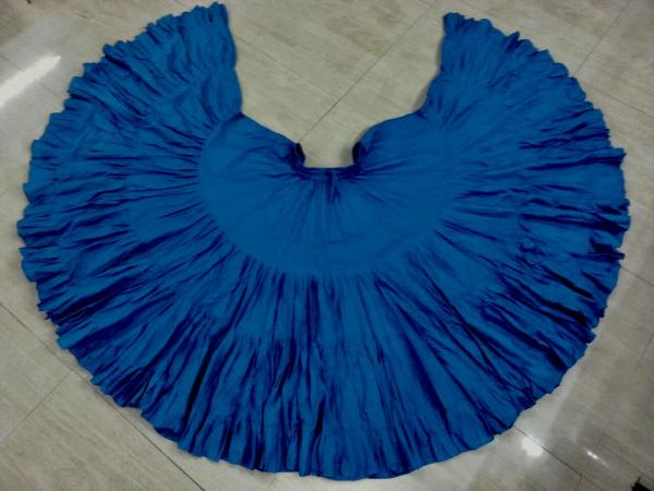 32 Yard Pure Cotton Skirt Blue