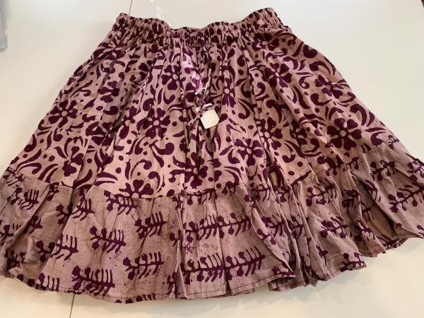 Block Print Mini Skirt #2