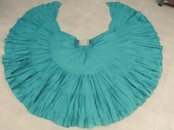 32 Yard Pure Cotton Skirt True Teal