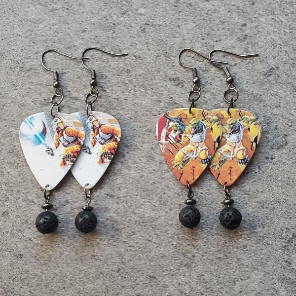 Star Wars Guitar Pick Earrings