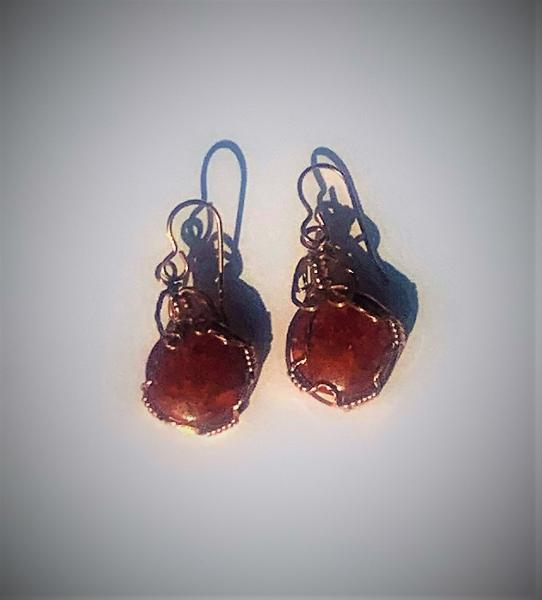 Red Jasper Earrings #647