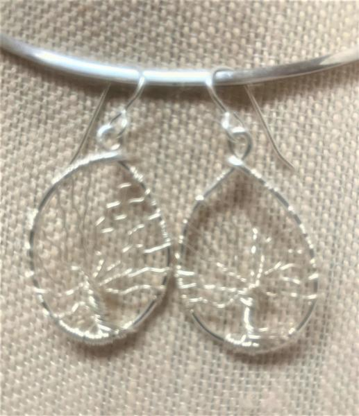 Tree of Life Dangle Earrings #394