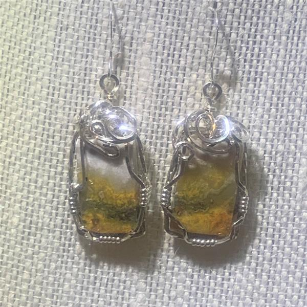 Bumble Bee Earrings #419