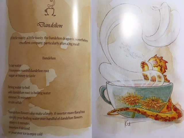 Tea Dragons: Whimsy and Watercolor Illustration Book