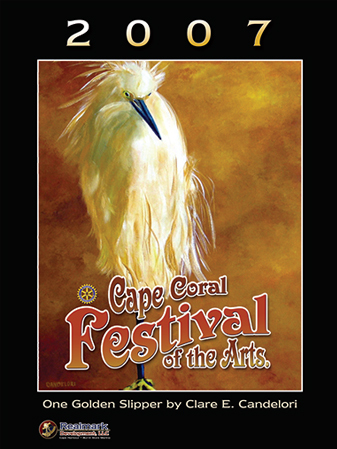 2007 Cape Coral Festival of the Arts poster