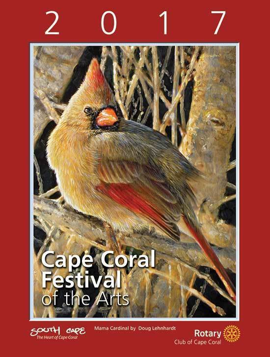 2017 Cape Coral Festival of the Arts Poster