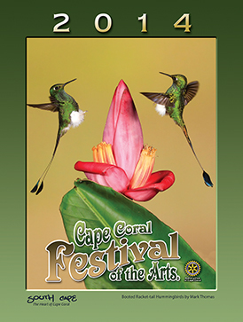 2014 Cape Coral Festival of the Arts Poster