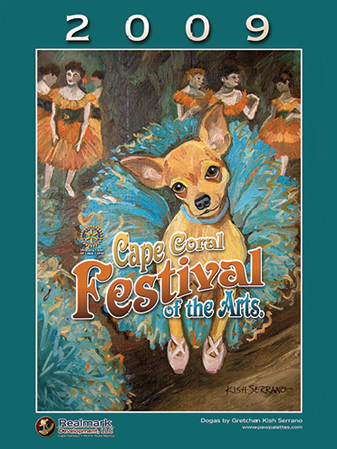 2009 Cape Coral Festival of the Arts Poster