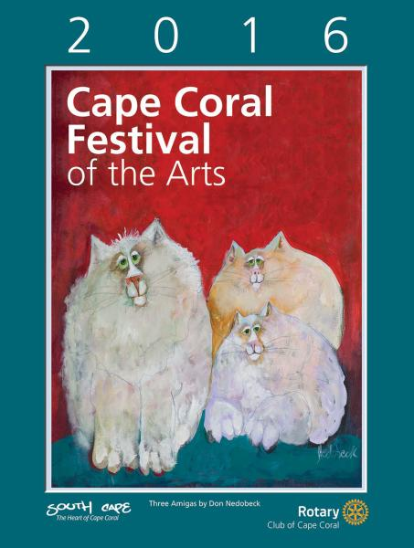 2016 Cape Coral Festival of the Arts Poster
