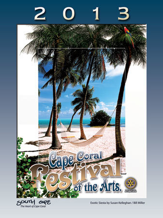 2013 Cape Coral Festival of the Arts Poster