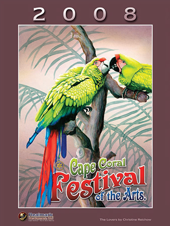 2008 Cape Coral Festival of the Arts Poster