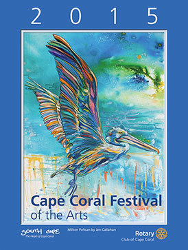 2015 Cape Coral Festival of the Arts Poster
