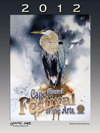 2012 Cape Coral Festival of the Arts Poster