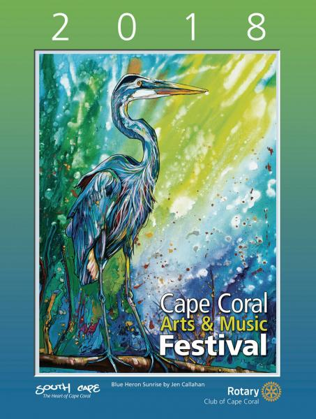 2018 Cape Coral Festival of the Arts Poster