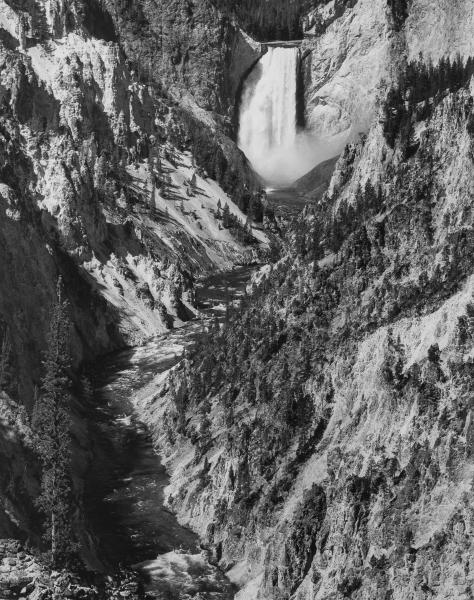 Yellowstone Falls from Artist Point