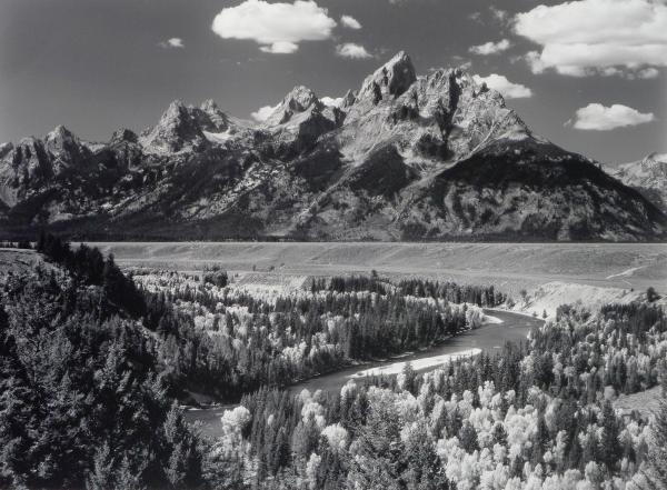 The Tetons and the Snake River, WY