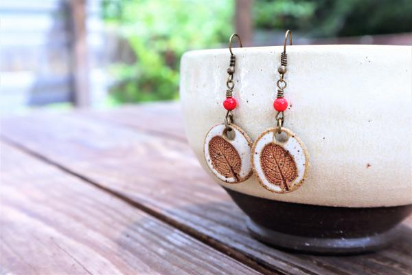Sage Leaf earrings #8