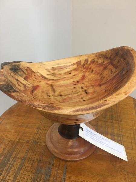 Bowl with a Flame, Jeanette Pierce picture