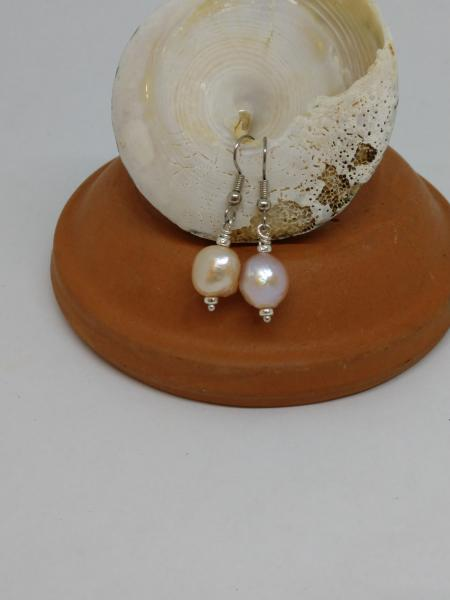 Cream Color Pearls - Dangle Style