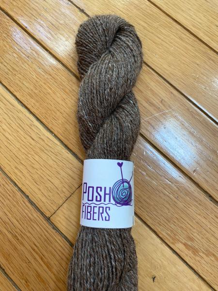From the Farm Tweed - 100% alpaca - 200 yds, Sport weight