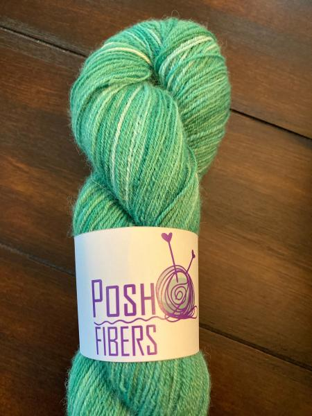 Totally Toes - Alpaca/Merino/Nylon - Green, Sock Yarn, Fingering Weight