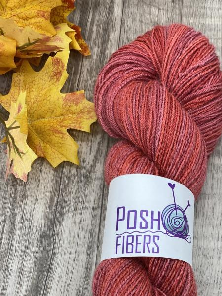 Totally Toes - Alpaca/Merino/Nylon - Autumn Red, Sock Yarn, Fingering Weight