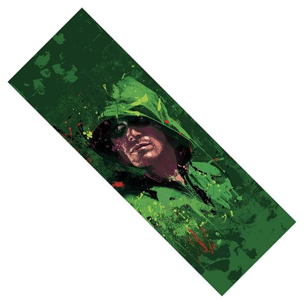 Arrow Splatter Paint Metal Bookmark