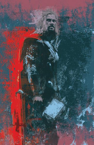 Thor Splatter Paint
