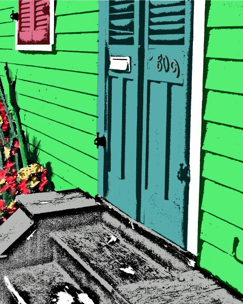NOLA Green Door picture