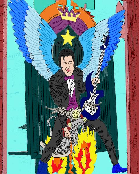 Electric Elvis Angel picture